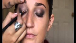 Макияж для зеленых глаз. Как сделать красивый макияж для зеленых глаз видео