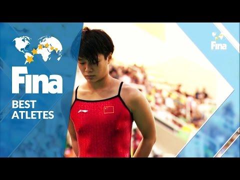 Shi Tingmao (CHN) - Best Female Diver 2016 - FINA World Aquatics Gala