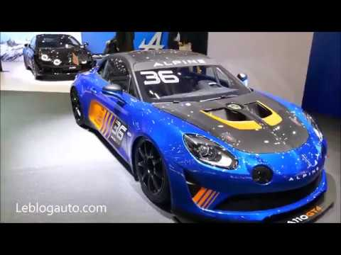 salon de gen ve 2018 alpine a110 pure l gende alpine a110 gt4 youtube. Black Bedroom Furniture Sets. Home Design Ideas