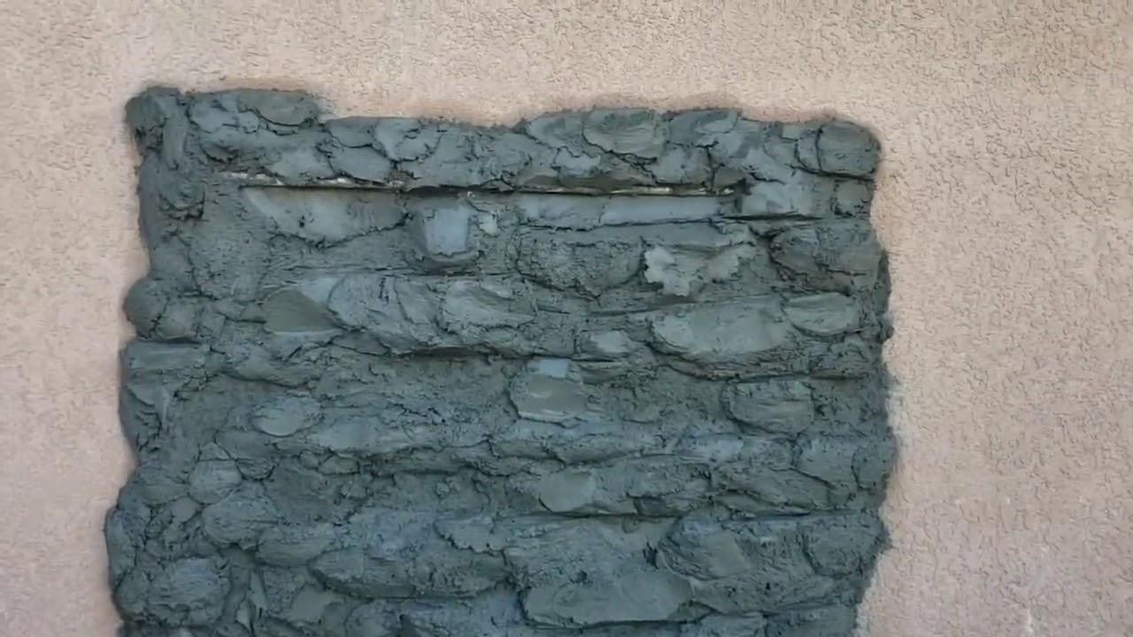 Como Hacer Pared De Piedra Con Cemento Novocom Top