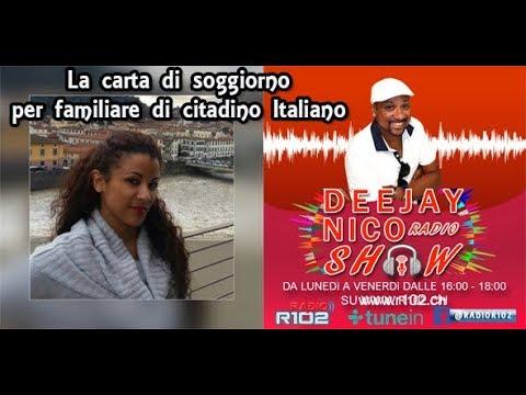 La Carta Di Soggiorno Per Familiare Di Cittadino Italiano - YouTube