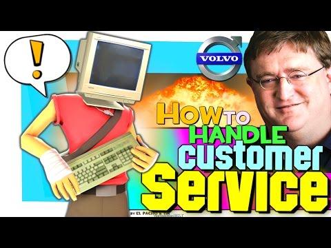 TF2: How to handle customer service (Valve customer service bot)