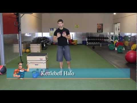 Kettlebell Core Exercise — The Halo