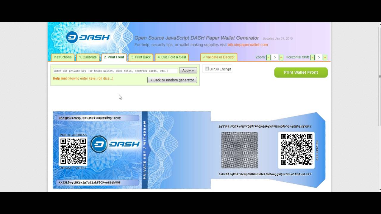 Most Secure Cold Wallet For Ripple Print Bitcoin Paper Wallet -