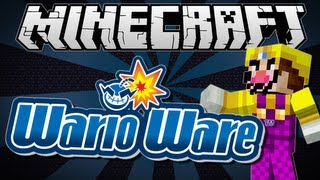 Minecraft | WARIOWARE! (Are you quick enough?!) | Minigame