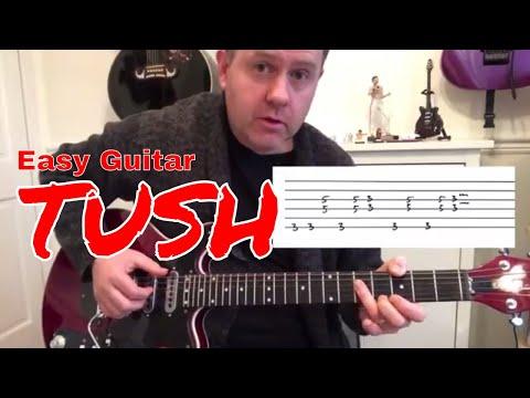 ZZ Top - Tush - Easy Guitar Lesson (Guitar Tab)