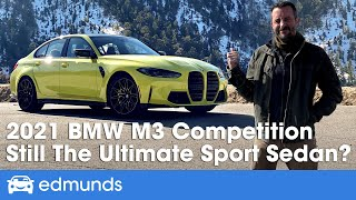 2021 BMW M3 Review | Driving the M3 Competition Luxury Sport Sedan | Price, HP, Interior & More