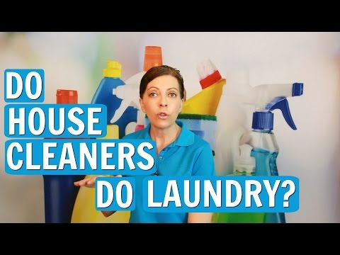 Do Professional House Cleaners or Maids Do Laundry? ⭐⭐⭐⭐⭐