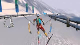№13 Гонка преследования, Рупольдинг (RTL Biathlon 2009)