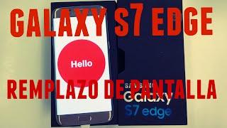 GALAXY S7 Edge pantalla quebrada