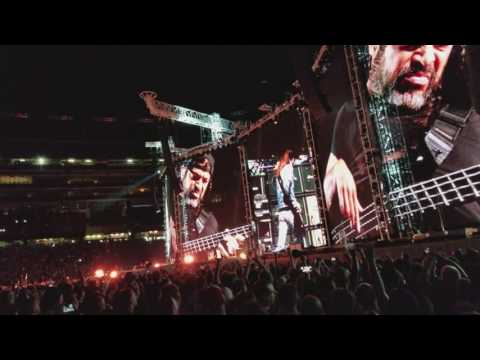 Metallica Black Hole Sun Chris Cornell tribute and Anesthesia Cliff Burton tribute Foxboro MA 4K