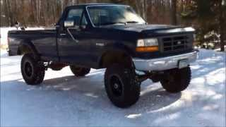 Rust Removal and Bushwacker Fender Flares Installation ('96 Ford F-250)