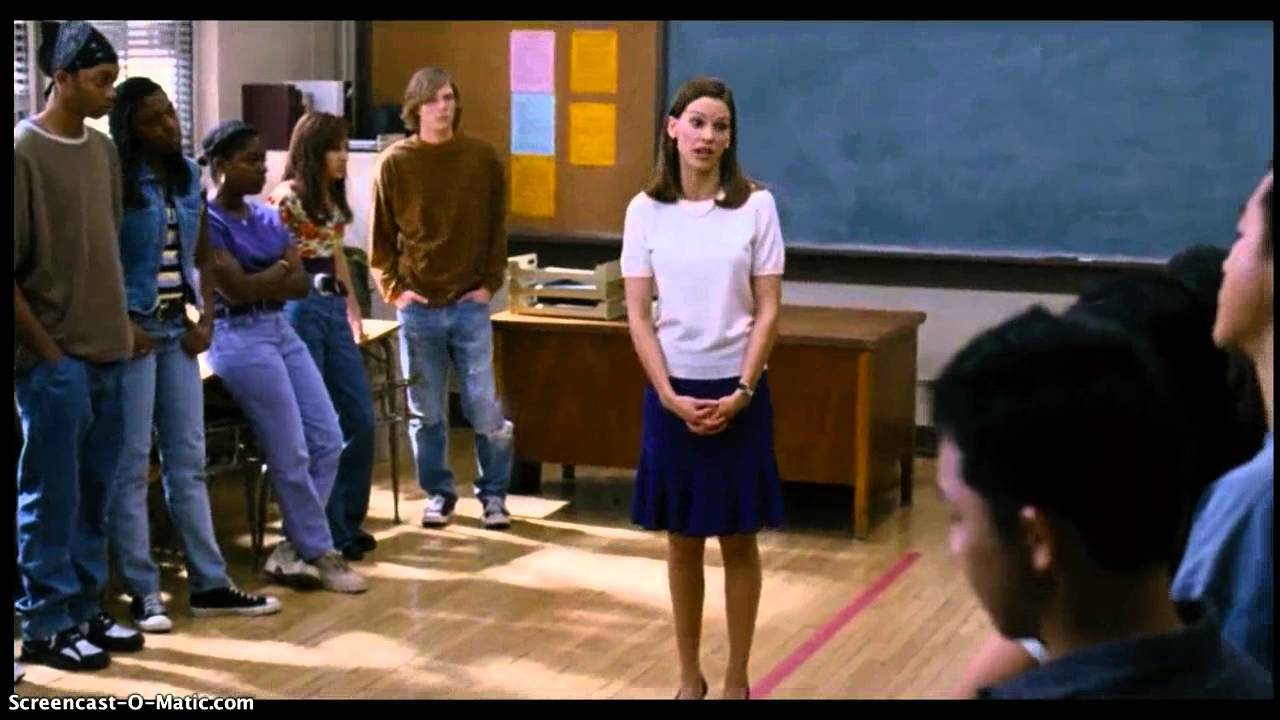tolerance in the freedom writers movie Without spoiling the movie, in case you haven't seen it, you'll be amazed at the methods she uses to teach tolerance and courage but the real story didn't end where the movie does in 1999 the freedom writers diary was published and received rave reviews.