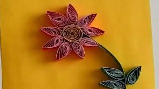 quilling/quilling yapımı/kağıt kıvırma sanatı/kağıt telkari