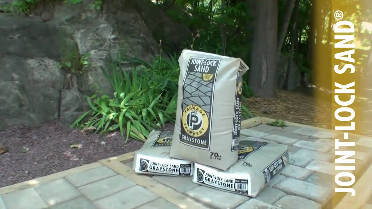 Joint Lock Sand 174 How To Install Polymeric Sand