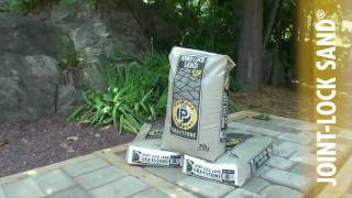 JOINT-LOCK SAND® How-To Install Polymeric Sand Demonstration