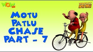 Motu Patlu Chase Compilation - Part 7 As seen on Nickelodeon As seen on Nickelodeon
