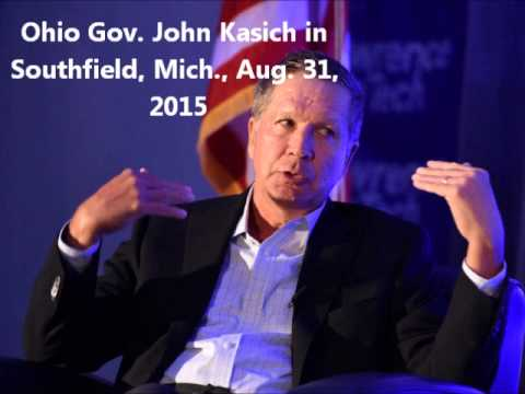 John Kasich national security talk - Southfield, Mich. Aug. 31, 2015
