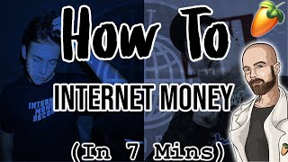 From Scratch: An Internet Money type song in 7 minutes | FL Studio tutorial