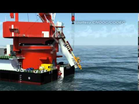 DEEPWATER PIPE LAYING CRANE VESSEL PART1