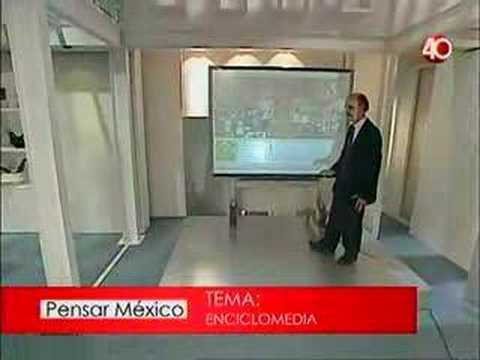 Felipe Bracho explica enciclomedia