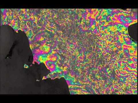 Sentinel-1 InSAR on a Continental Scale [Super Slow Motion]