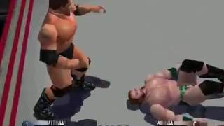 WWF WrestleMania 2000 - Batista vs Sheamus