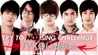 ♫ TRY TO NOT SING DBSK CHALLENGE ❣