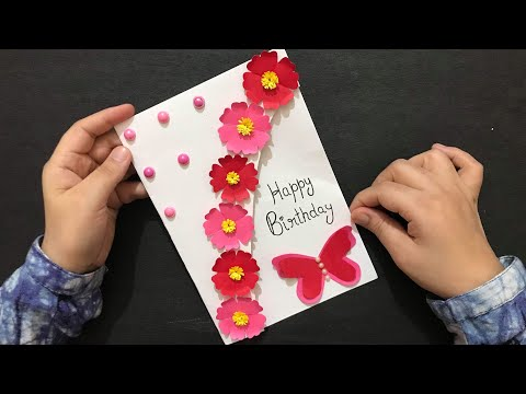 Handmade Card Tutorial For Birthday | Customized Birthday Gift Ideas