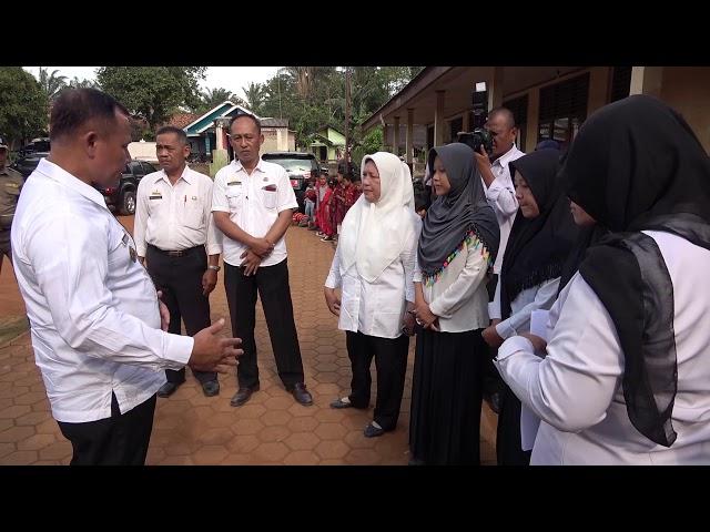 Sambangi SD Negeri Kecil Siring Babaran Kec. Katibung, Nanang Dapati Sekolah Rusak