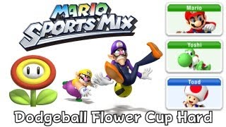 Mario Sport Mix - Dodgeball - Flower Cup Hard (co-op)