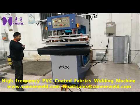 High frequency PVC coated fabrics welding machine