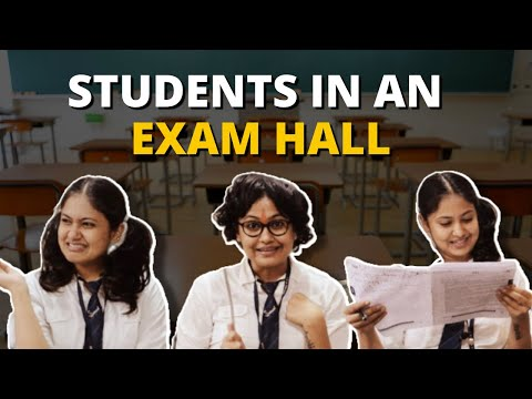Types Of Students In Exam Hall   Captain Nick