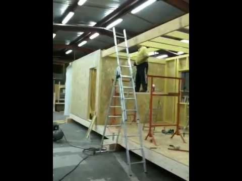 Maison modulaire bois youtube for Maison bois module
