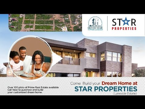 Customisable  Luxury Plots for Building Dream Homes in Accra Ghana - Star Home & Properties