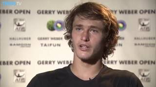 Zverev To Face Federer In Halle 2016