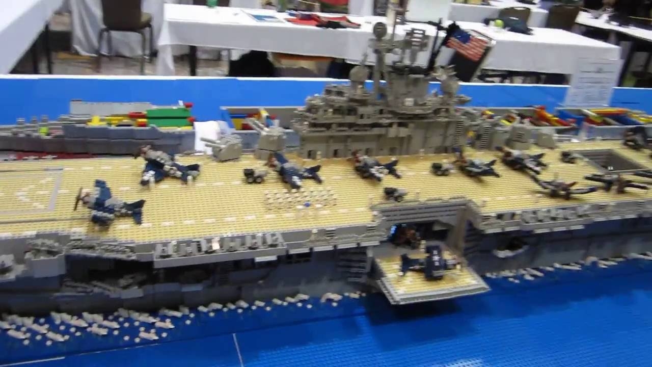 lego aircraft carrier youtube