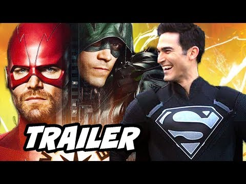 The Flash Season 5 Arrow Elseworlds Trailer - Green Arrow Becomes The Flash