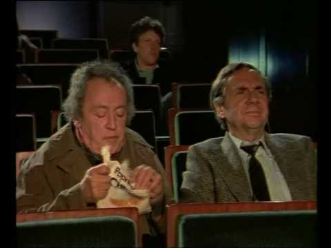 Harald Juhnke & Eddi Arent  Kinobesuch 1989