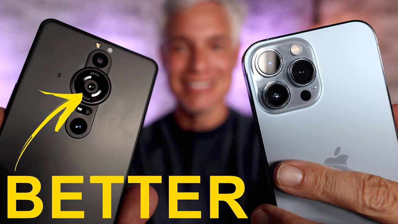 Download Sony Xperia Pro-I vs iPhone 13 Pro CAMERA Review!