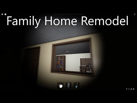 Family Home Remodel & 1.5 Update on Roblox Specter