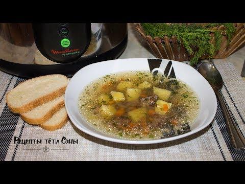 Готовим гречневый суп в мультиварке