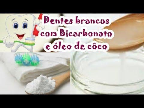 Como Clarear Os Dentes Com Bicarbonato E Oleo De Coco Dentes Branco