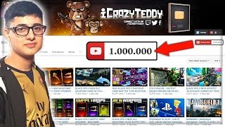 THE STORY OF iCrazyTeddy - My Journey to 1 Million Subscribers!