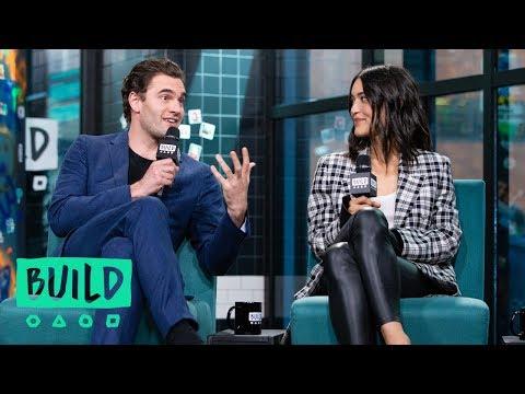 "Tom Bateman & Julia Jones On The New Action Film, ""Cold Pursuit"""