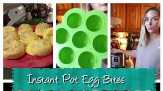 Instant Pot Egg Bites ~ Instant Pot Recipe