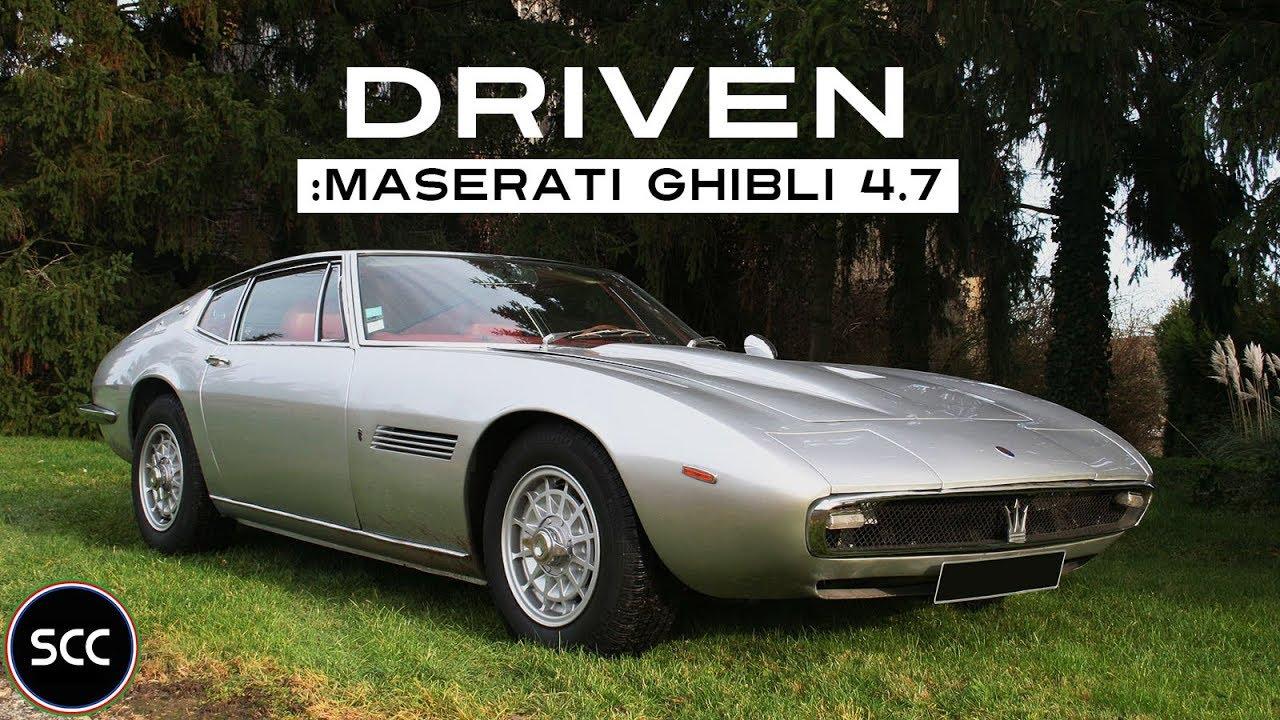maserati ghibli 4 7 1969 full test drive in top gear v8 engine sound scc tv youtube. Black Bedroom Furniture Sets. Home Design Ideas