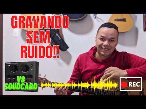 V8 SOUDCARD |TESTE