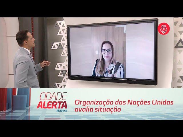 Covid-19: Organização das Nações Unidas avalia situação nas grotas de Maceió