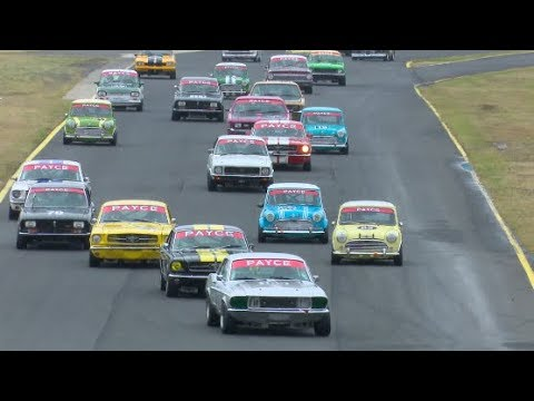 Historic Touring Cars Race 1 Sydney Classic Speed Festival 2017